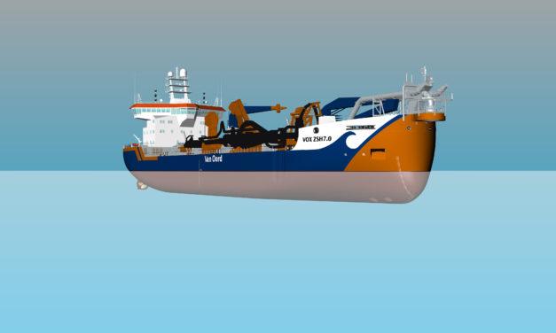 Van Oord strengthens dredging fleet with third new hopper