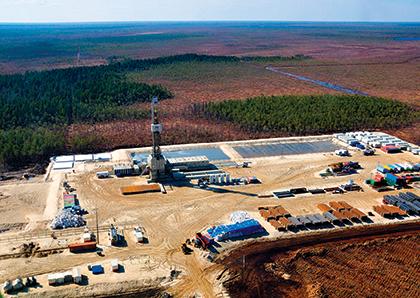 Bentec wins multi-million euro contract for seven 320t cluster slider drilling rigs