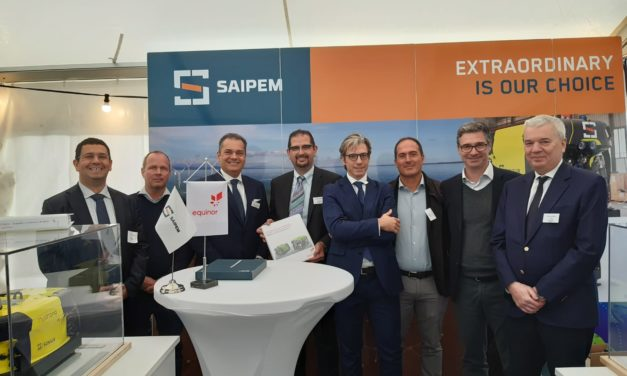 Saipem signs pioneering contract to deliver Hydrone-based technology to Equinor