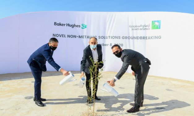 Aramco and Baker Hughes commence construction on non-metallics joint venture in Saudi Arab
