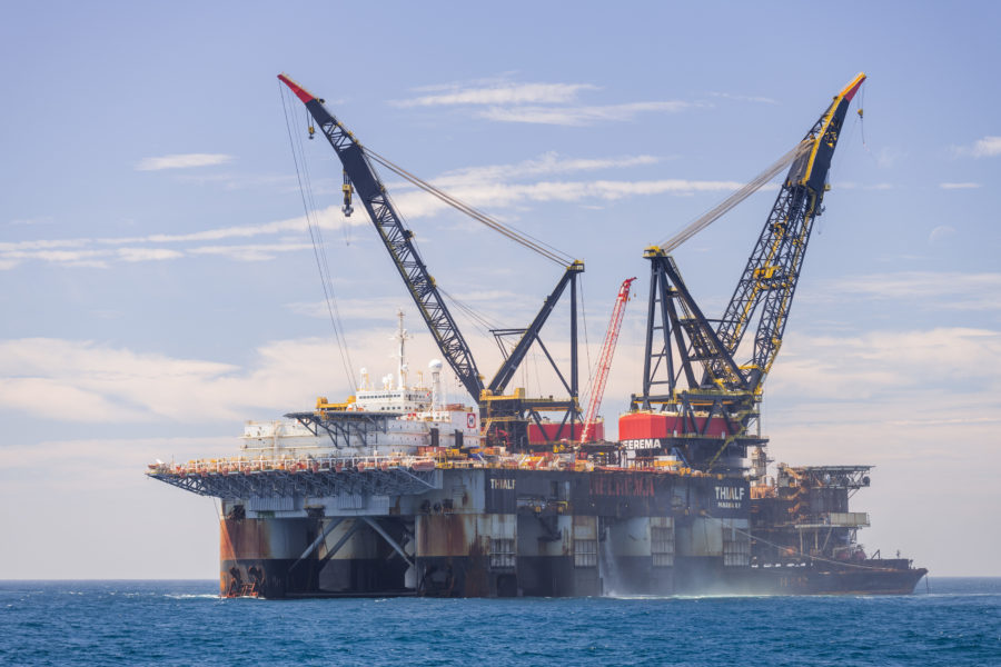 Heerema's Thialf completes removal of Sable Project offshore facilities for ExxonMobil