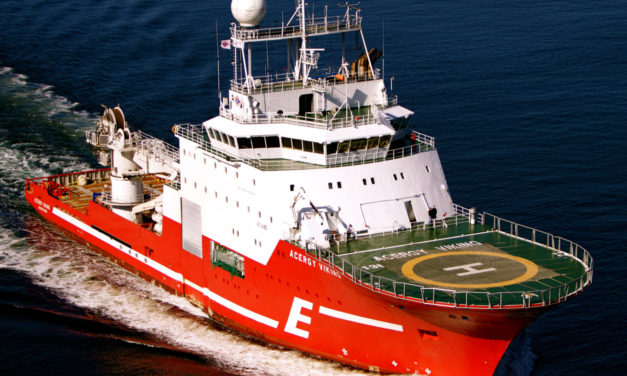 Eidesvik lands Long term contract with Acergy Viking