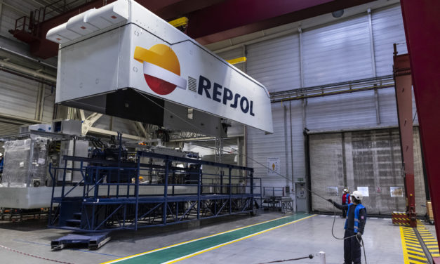 Repsol and Ibereólica Renovables advance in the construction of their first joint wind farm in Chile
