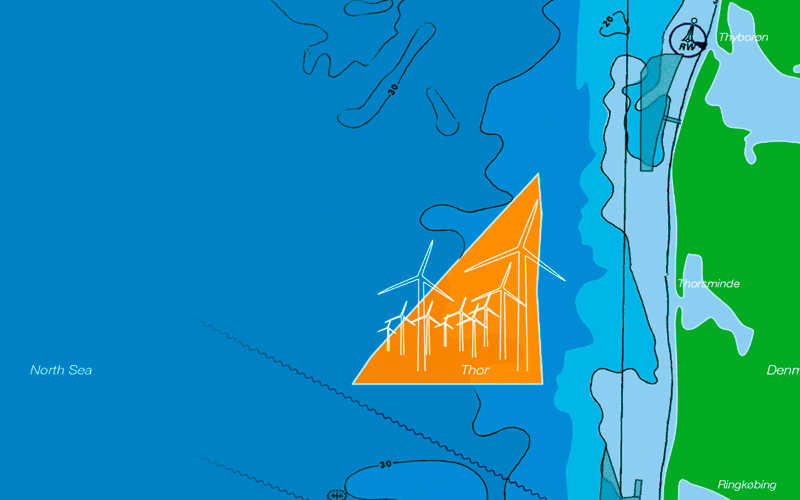 Great interest in building the Danish Thor Offshore Wind Farm