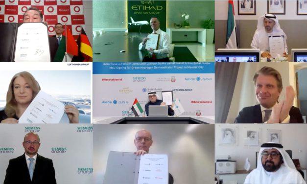 Masdar leads initiative to support development of Abu Dhabi's green hydrogen economy