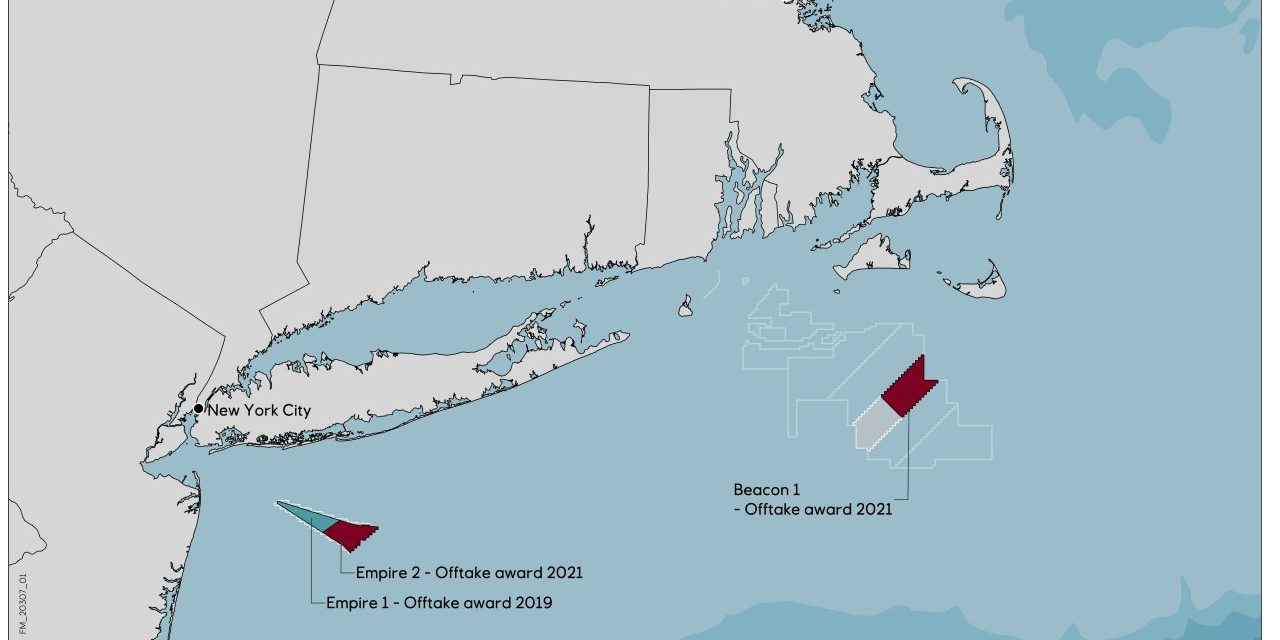 Equinor selected for largest-ever US offshore wind award