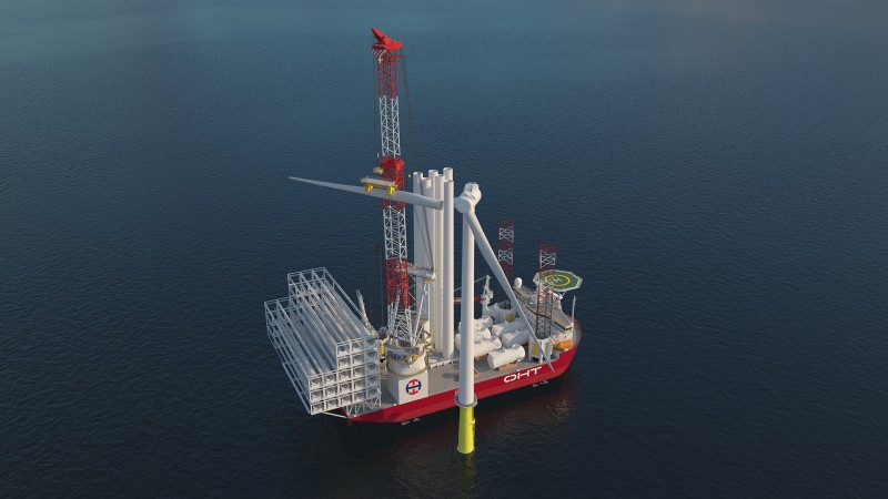 NOV wins contract for OHT wind turbine installation vessel new build