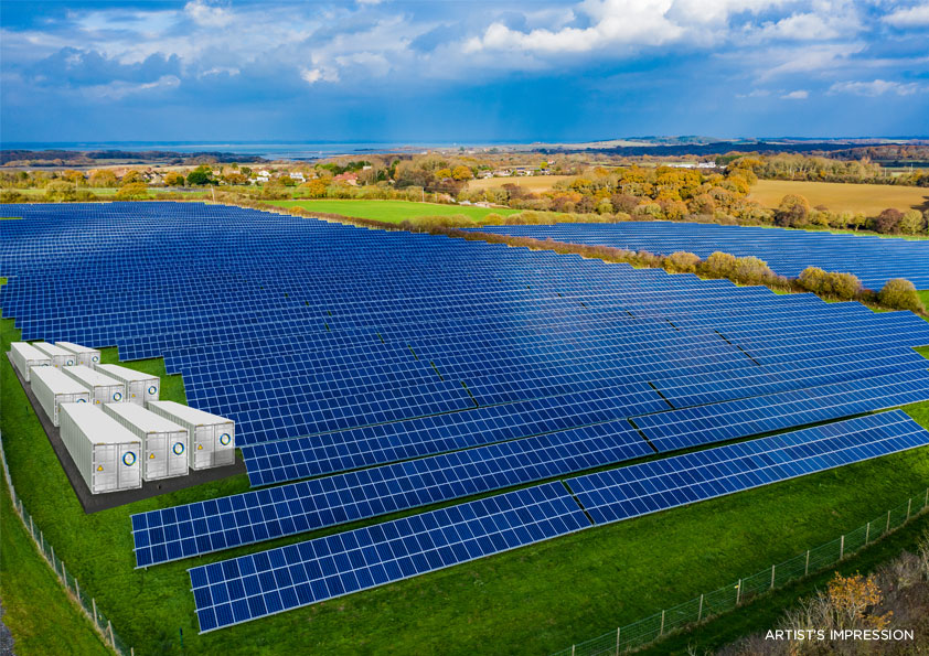 NTR Fund acquires 54 MW of co-located solar and battery storage in Ireland from RES