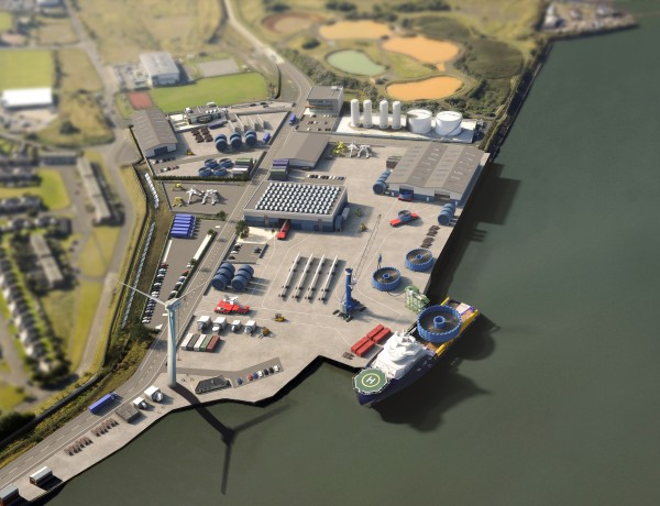 Terminal redevelopment signals clean energy revolution at Port of Blyth