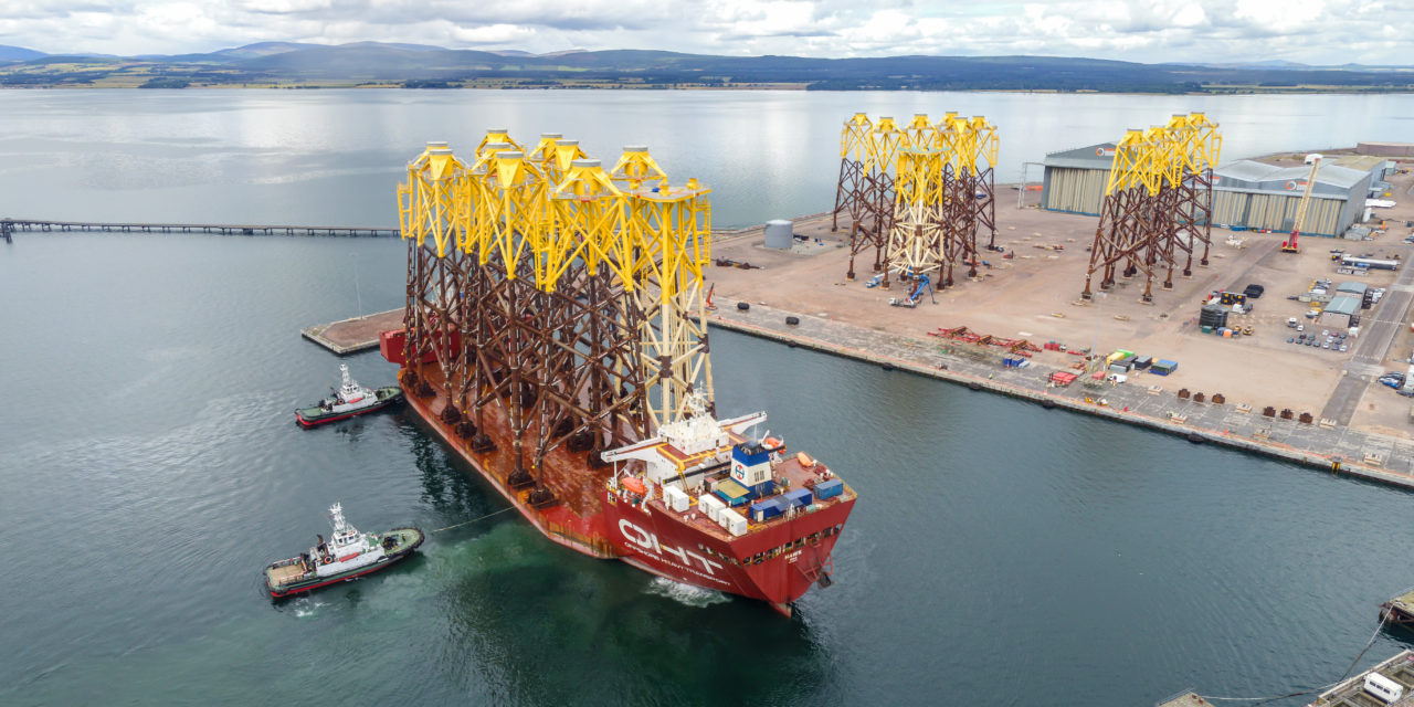 Seagreen delivers green jobs boost to Port of Nigg as part of offshore wind's ongoing green recovery