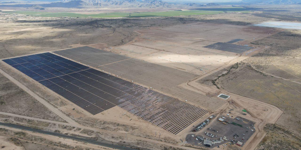 Longroad Energy acquires ~900 MWdc Arizona solar and storage portfolio from First Solar