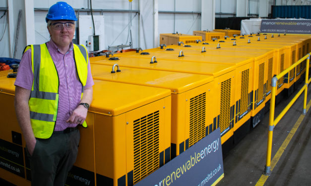 Manor Renewable Energy places order for 500th JCB Generator