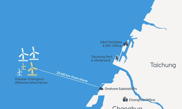 Ørsted starts installation of Greater Changhua 1 & 2a Offshore Wind Farms
