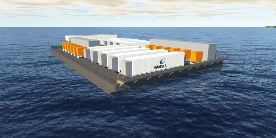Wärtsilä's floating energy storage system to aid operator