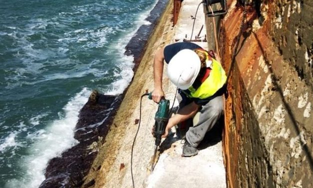 Work on Sea Wall Begins for EWP-EDF One Wave Energy project