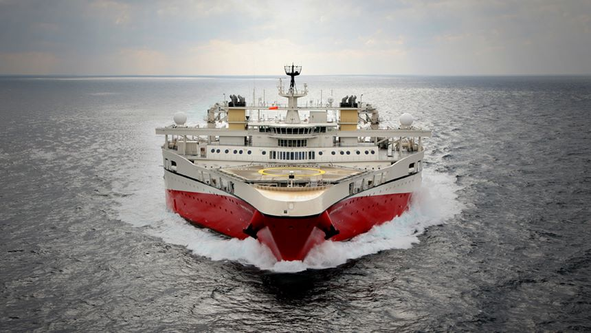 PGS lands Extended Long Offset contract with Ramform Tethys