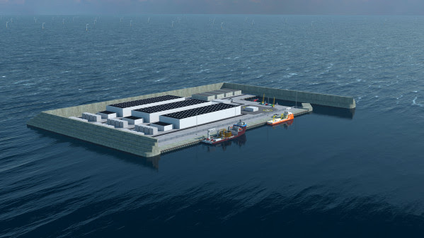 Invitation to procurement framework for Energy Island in North Sea