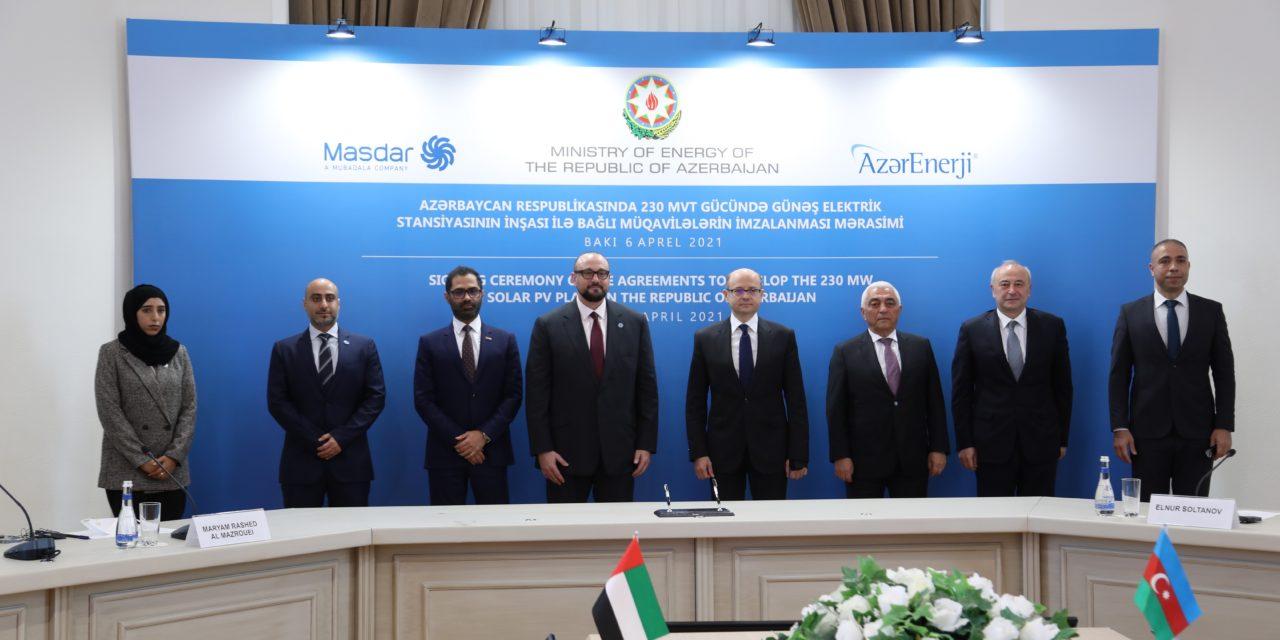 Masdar to develop utility-scale solar power project in Azerbaijan