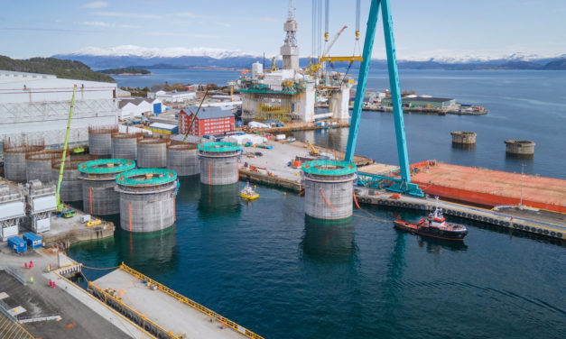Aker Solutions completes first phase of Hywind Tampen construction