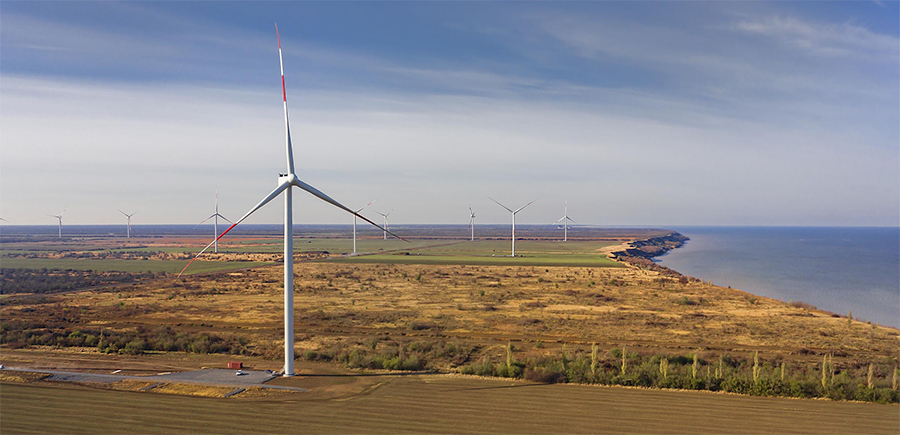Enel Russia to put wind farm Azovskaya into commercial operation