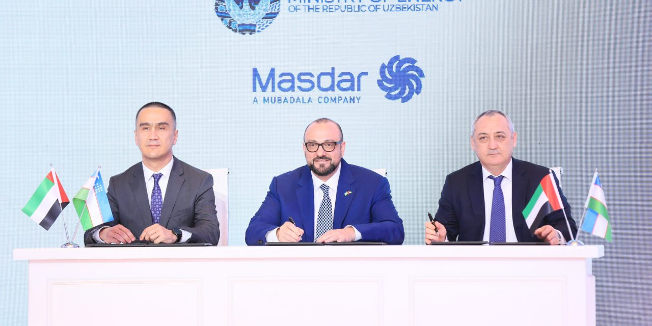 Masdar celebrates groundbreaking Zarafshan wind farm in Uzbekistan