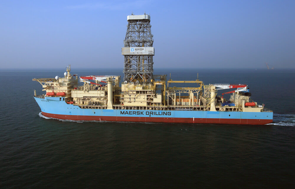 Maersk Drilling wins four-well drillship contract with Shell in Malaysia