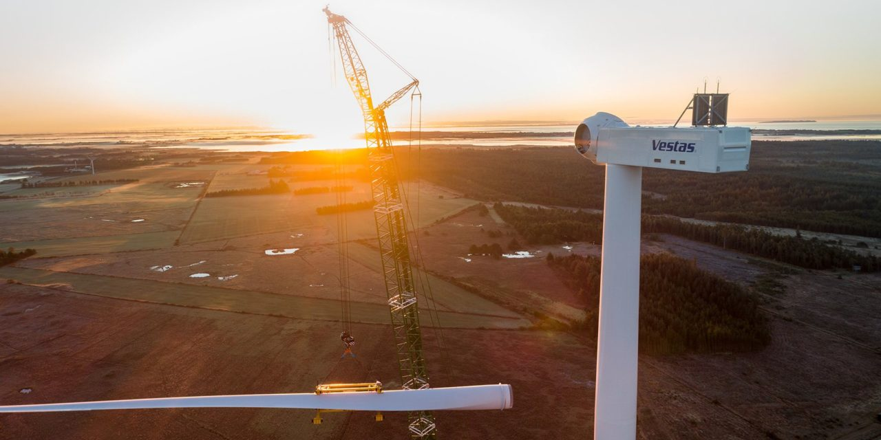 Vestas wins first order for EnVentus wind turbines with SIMIC Spa
