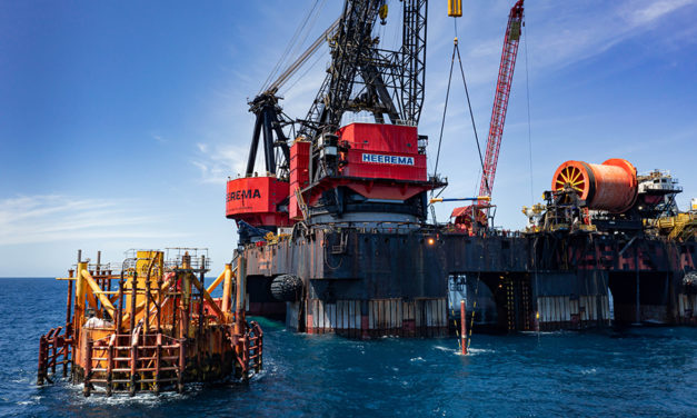 Heerema's Balder completes removal of the Morpeth TLP