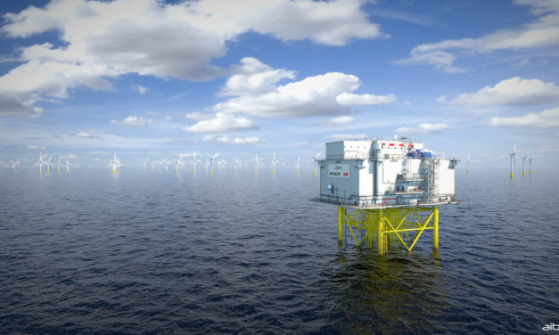 Dogger Bank reveals world-first in HVDC offshore platforms
