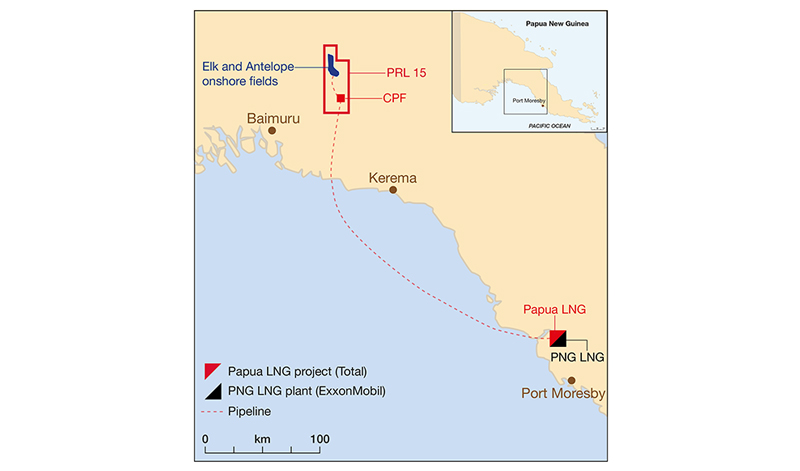 Total and Government of Papua New Guinea confirm next steps for Papua LNG project