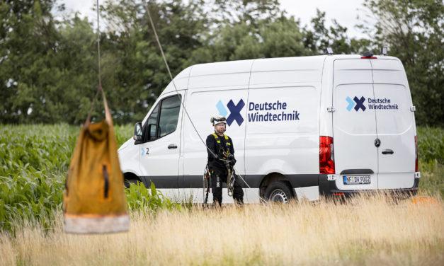 Deutsche Windtechnik retrofitting ADLS technology at Wanderup wind field