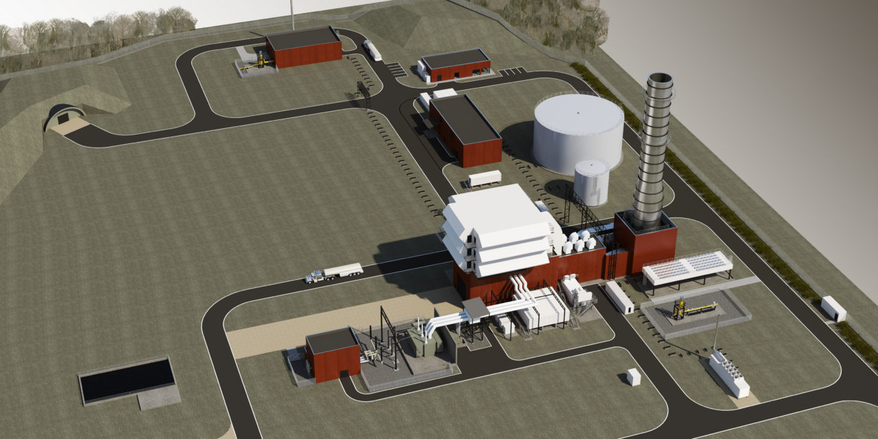 Siemens Energy to build a remote-controlled gas fired power plant