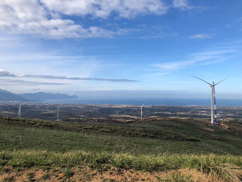 Goldwind implements its first project in Italy