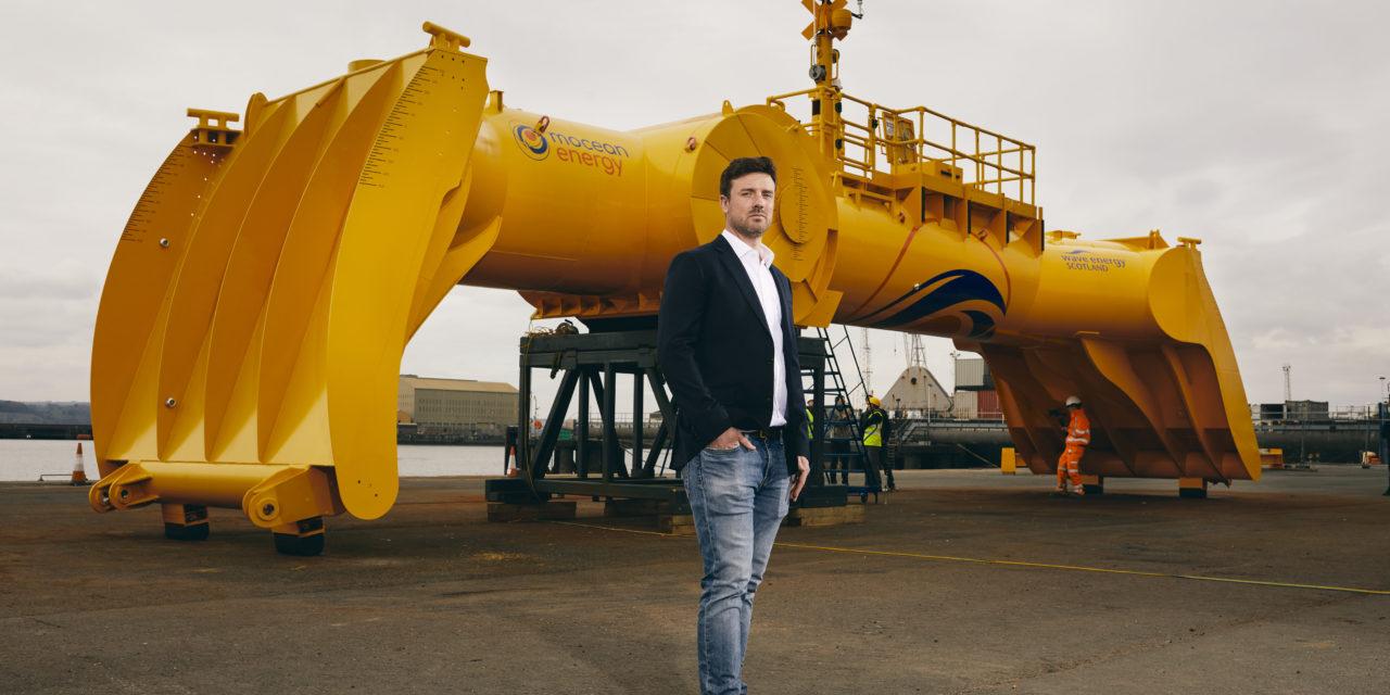 Mocean Energy Blue X wave machine starts sea trials at EMEC