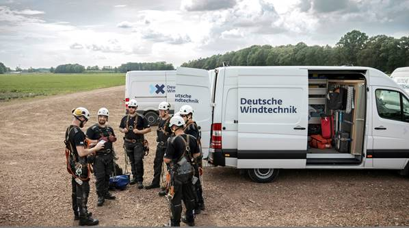 ENGIE and Deutsche Windtechnik are expanding their Europe-wide cooperation