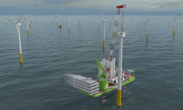 Huisman contracted by DSME to deliver 2,600mt Leg Encircling Crane