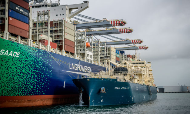 Energy transition in shipping: First BioLNG production project at a French port