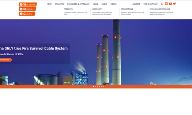New website for Wrexham Mineral Cables provides wide-ranging content on fire safety issues