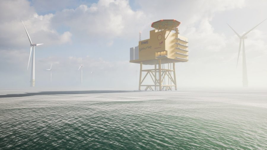 Study investigates potential for large-scale offshore hydrogen park