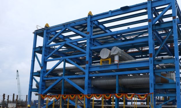 L&T flags-off first set of Piperack modules to HPCL's Visakh Refinery