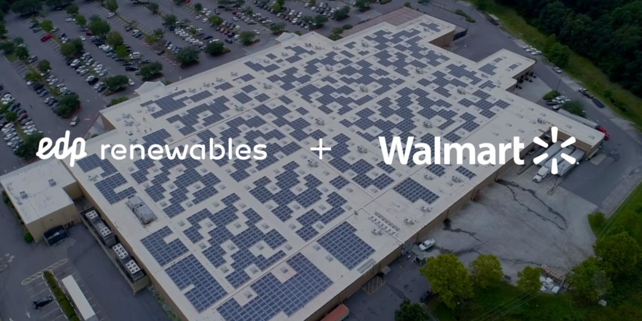 EDPR signs more than 50 solar energy projects with Walmart