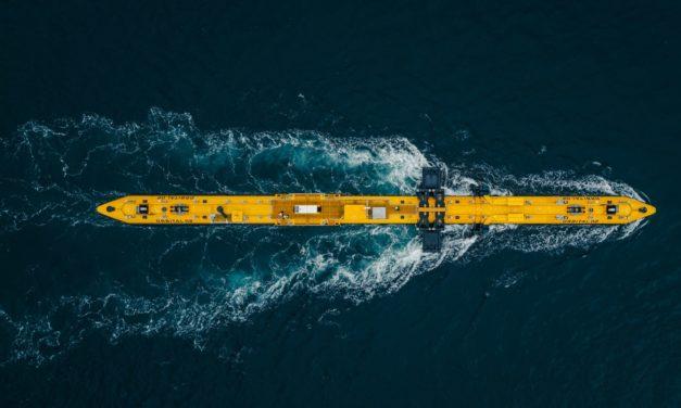 European Commission backs floating tidal net-zero project