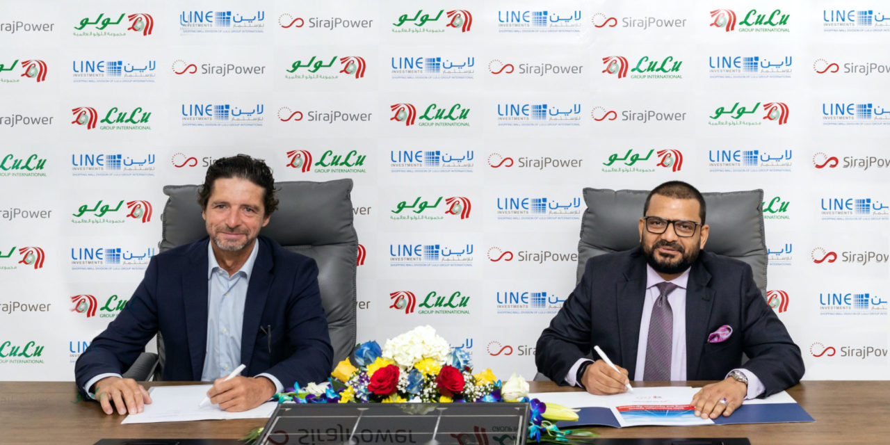 Lulu Group inks its major green milestone project with SirajPower