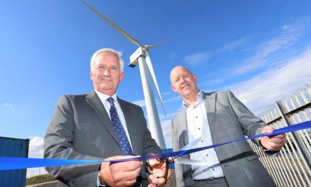 Port of Blyth open unique wind turbine training facility
