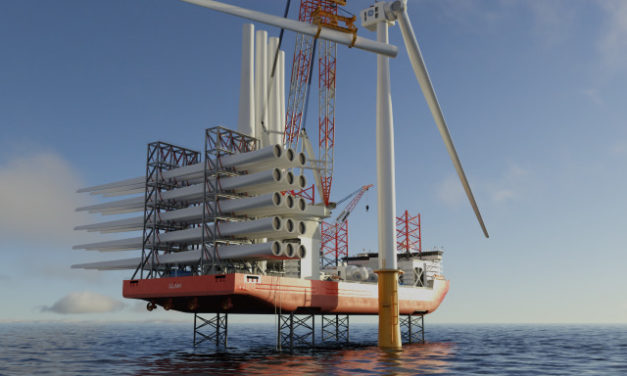 ABS awards AIP to Ned Project's wind turbine installation vessel design