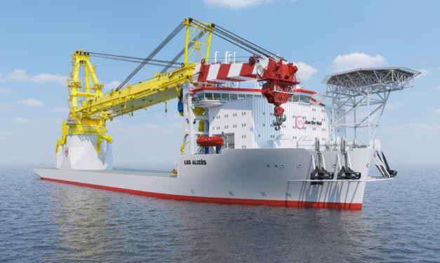 Jan De Nul contracts Castor Marine to connect entire fleet