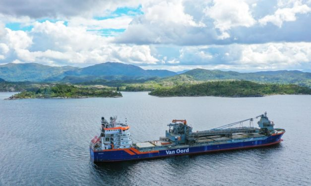 Van Oord signs contract for Subsea Rock Installation