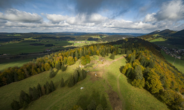 Construction starts for first wind farm in canton of Vaud