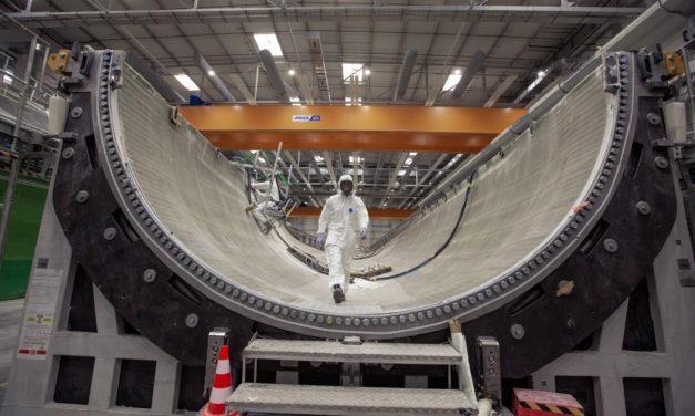 GE Renewable Energy launches second 107-metre wind turbine blade mold