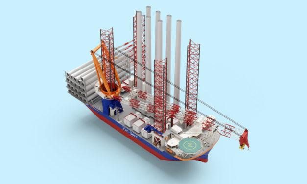 Van Oord orders mega-ship to install foundations and turbines